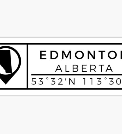 Edmonton Sticker