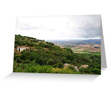 Clouds over Tuscany Greeting Card