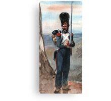 Bonapart  Imperial Guard Canvas Print