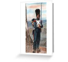 Bonapart  Imperial Guard Greeting Card
