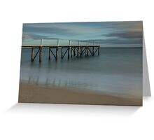 Jetty at Sullivan Bay, Sorrento Greeting Card