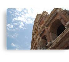 Colosseum Close Up Canvas Print