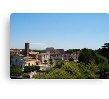 Colosseum from a distance Canvas Print