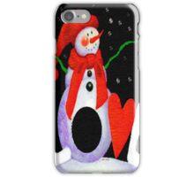 Snowman Love iPhone Case/Skin