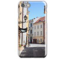 Győri utcák iPhone Case/Skin