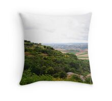 Clouds over Tuscany Throw Pillow