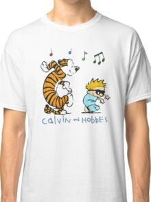 Tiger and a Boy Blue Dance comics fan Youth Classic T-Shirt