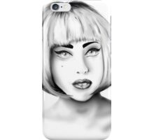 Lady Gaga - Portrait 01 iPhone Case/Skin