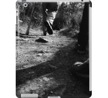 trail blazing. iPad Case/Skin