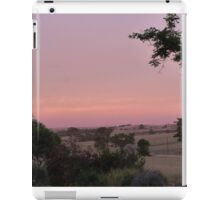 'IN THE GLOAMING!'  Sunset Reflection over the range.  iPad Case/Skin