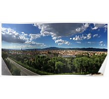 Panorama of Florence Poster