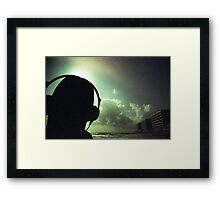 Ibiza house music chillout DJ deejay 35mm xpro cross processed lomographic film lomography analog photo Framed Print