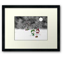 White Christmas Framed Print