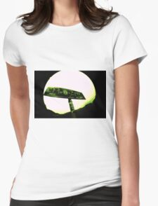 welcome to moab. Womens Fitted T-Shirt
