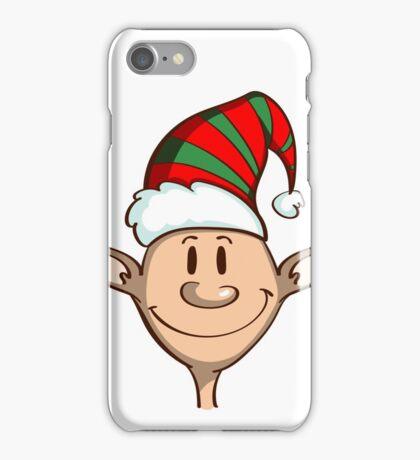 Cartoon Funny Christmas Elf iPhone Case/Skin