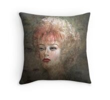 The Decisive Moment (Image and Writing) Throw Pillow