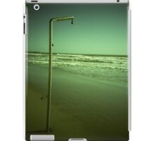 Beach shower in surreal green 35mm xpro cross processed lomographic film lomography analog photo iPad Case/Skin