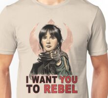 I Want You To Rebel Unisex T-Shirt