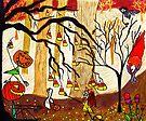 Halloween Forest by Alberto  DeJesus