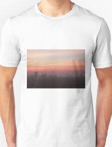 Cold sunrise Unisex T-Shirt