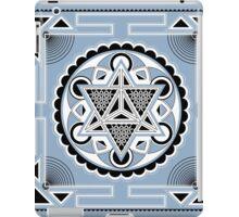 SACRED GEOMETRY - METATRONS CUBE - MERKABA - FLOWER OF LIFE - SPIRITUALITY iPad Case/Skin