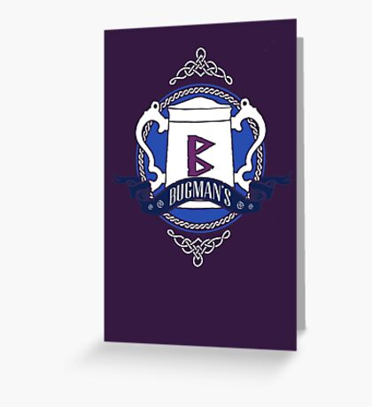 Bugman's Brewery Greeting Card
