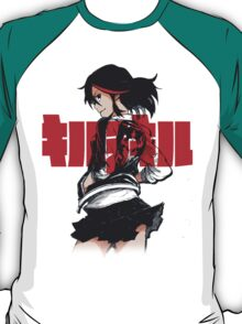 KILL LA KILL - REBEL WITH THE RED STREAK T-Shirt