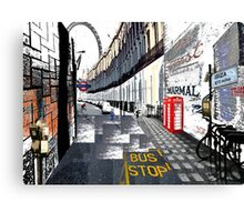 London to Ibiza Canvas Print