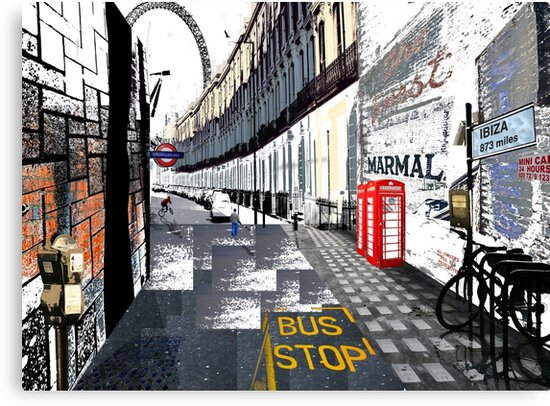 London to Ibiza by Adam Johnston