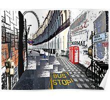London to Ibiza Poster