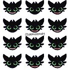 Toothless - Pattern by ColorMyMemory