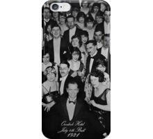 Overlook Hotel July 4th Ball 1921 iPhone Case/Skin