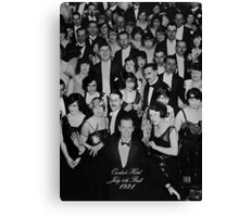 Overlook Hotel July 4th Ball 1921 Canvas Print