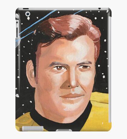 Captain Kirk Boldy Going iPad Case/Skin