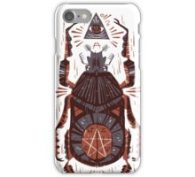 All Seeing Eye - Beetle One - Red iPhone Case/Skin