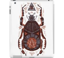 All Seeing Eye - Beetle One - Red iPad Case/Skin