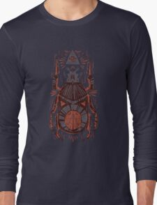 All Seeing Eye - Beetle One - Red Long Sleeve T-Shirt