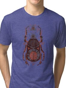 All Seeing Eye - Beetle One - Red Tri-blend T-Shirt