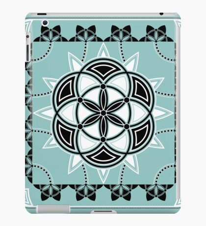 SACRED GEOMETRY - SEED OF LIFE - FLOWER OF LIFE - SPIRITUALITY iPad Case/Skin