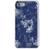 Smoked Fish, Blue iPhone Case/Skin
