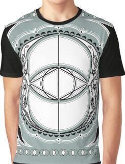 SACRED GEOMETRY - VESICA PISCIS - FLOWER OF LIFE - CHALICE WELL - SPIRITUALITY Graphic T-Shirt
