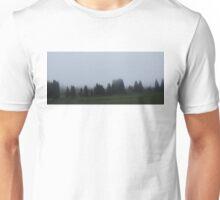 foggy drive. Unisex T-Shirt