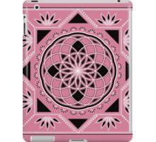 SACRED GEOMETRY - TUBE TORUS - FLOWER OF LIFE - SPIRITUALITY iPad Case/Skin