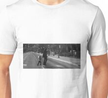 just keep living.  Unisex T-Shirt