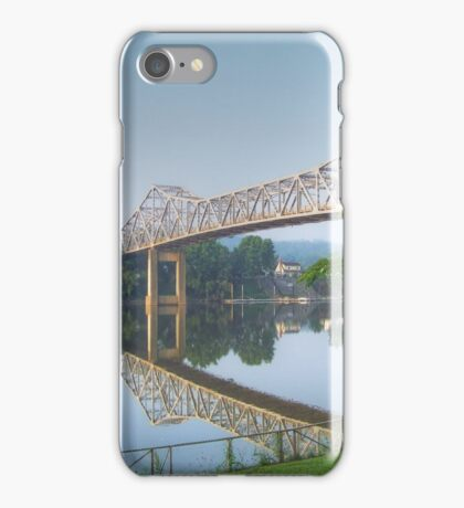 Reflected Bridge iPhone Case/Skin