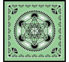 SACRED GEOMETRY - METATRONS CUBE - FLOWER OF LIFE - SPIRITUALITY Photographic Print