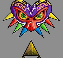 Corrupted Triforce by jemilla
