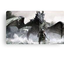 Skyrim Items Canvas Print