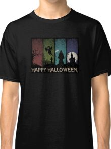 Happy Halloween - 4 Panels Classic T-Shirt