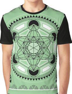 SACRED GEOMETRY - METATRONS CUBE - FLOWER OF LIFE - SPIRITUALITY Graphic T-Shirt